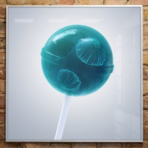 Artprint Lollipop Jellyfish von soonapie