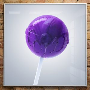 Artprint Lollipop Spider von soonapie